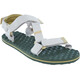 The North Face Base Camp Switchback Sandals Women Vintage White/Olivenite Yellow